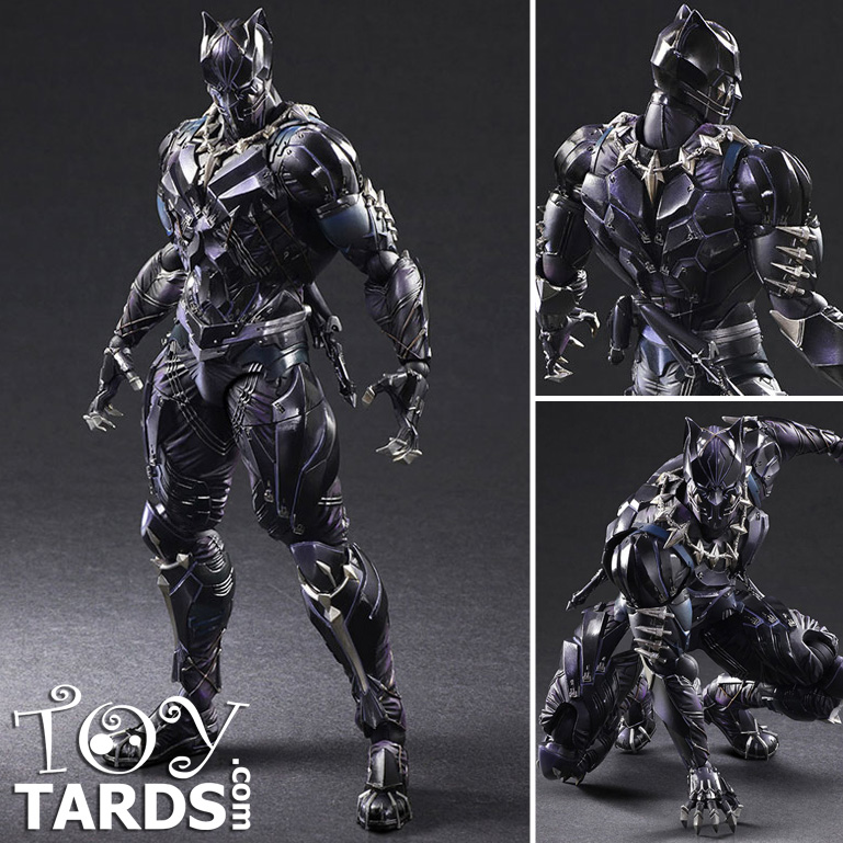 [Pre-Order] Play Arts -Kai- Variant : Marvel - Black Panther