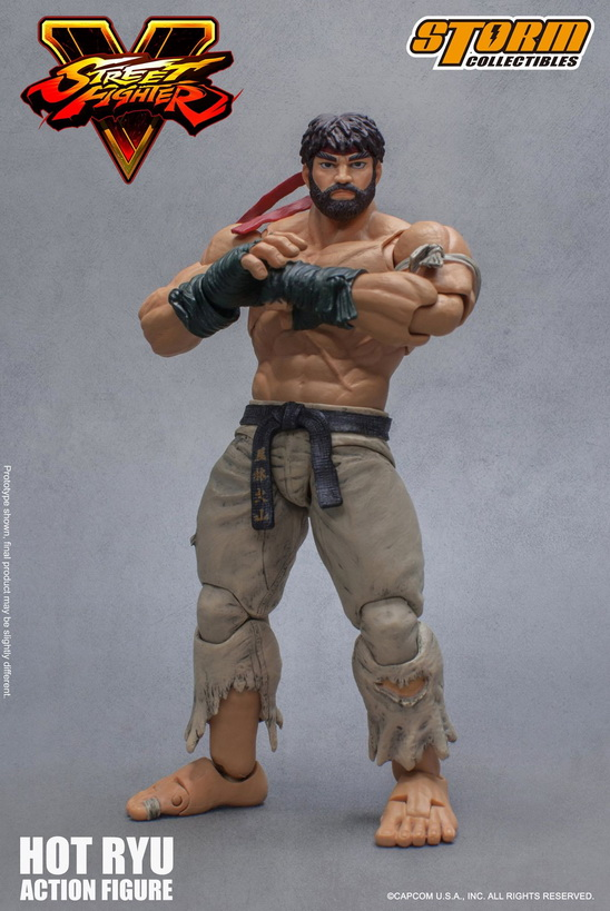 Street Fighter V - Hot Ryu 1:12 Action Figure