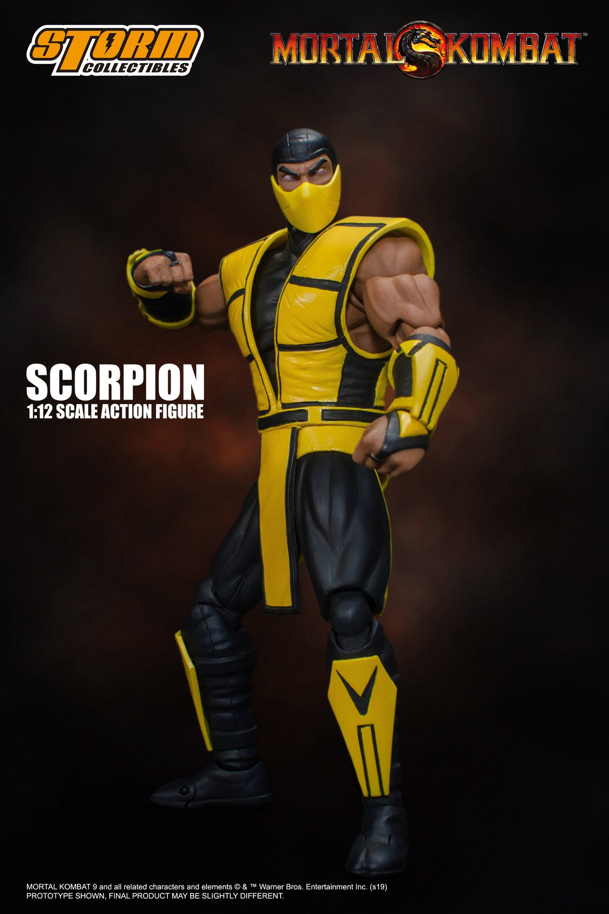 Mortal Kombat 3 - Scorpion 1:12 Action Figure