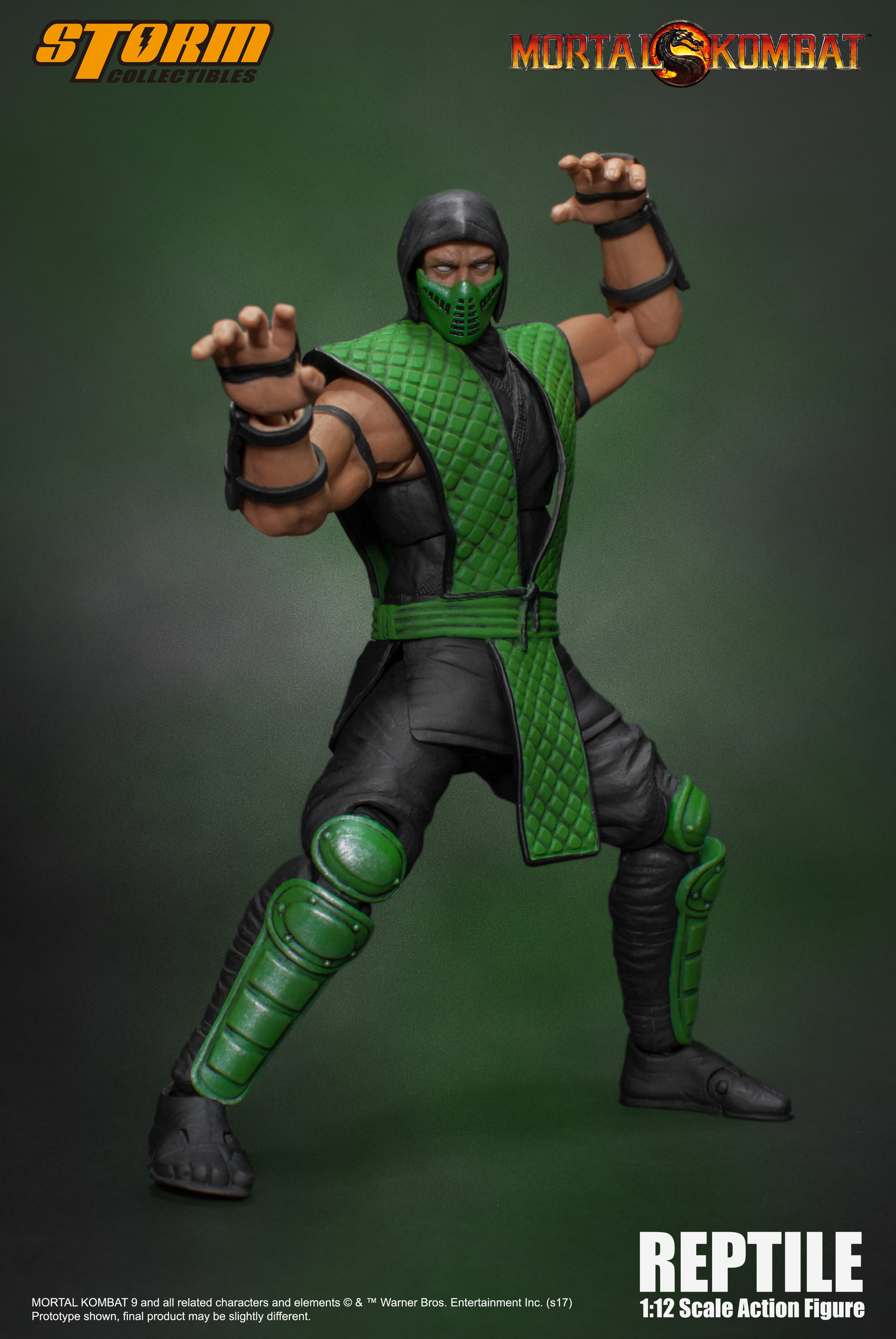 Mortal Kombat - Reptile 1:12 Action Figure