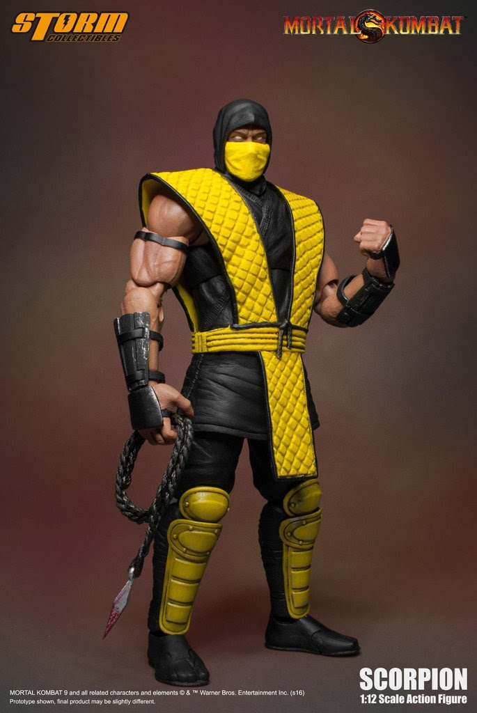 Mortal Kombat - Scorpion 1:12 Action Figure