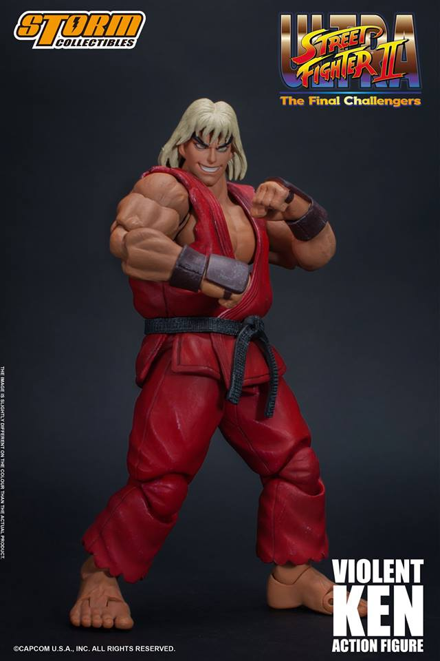 [Pre-Order] Ultra Street Fighter II - Violent Ken 1:12 Action Figure