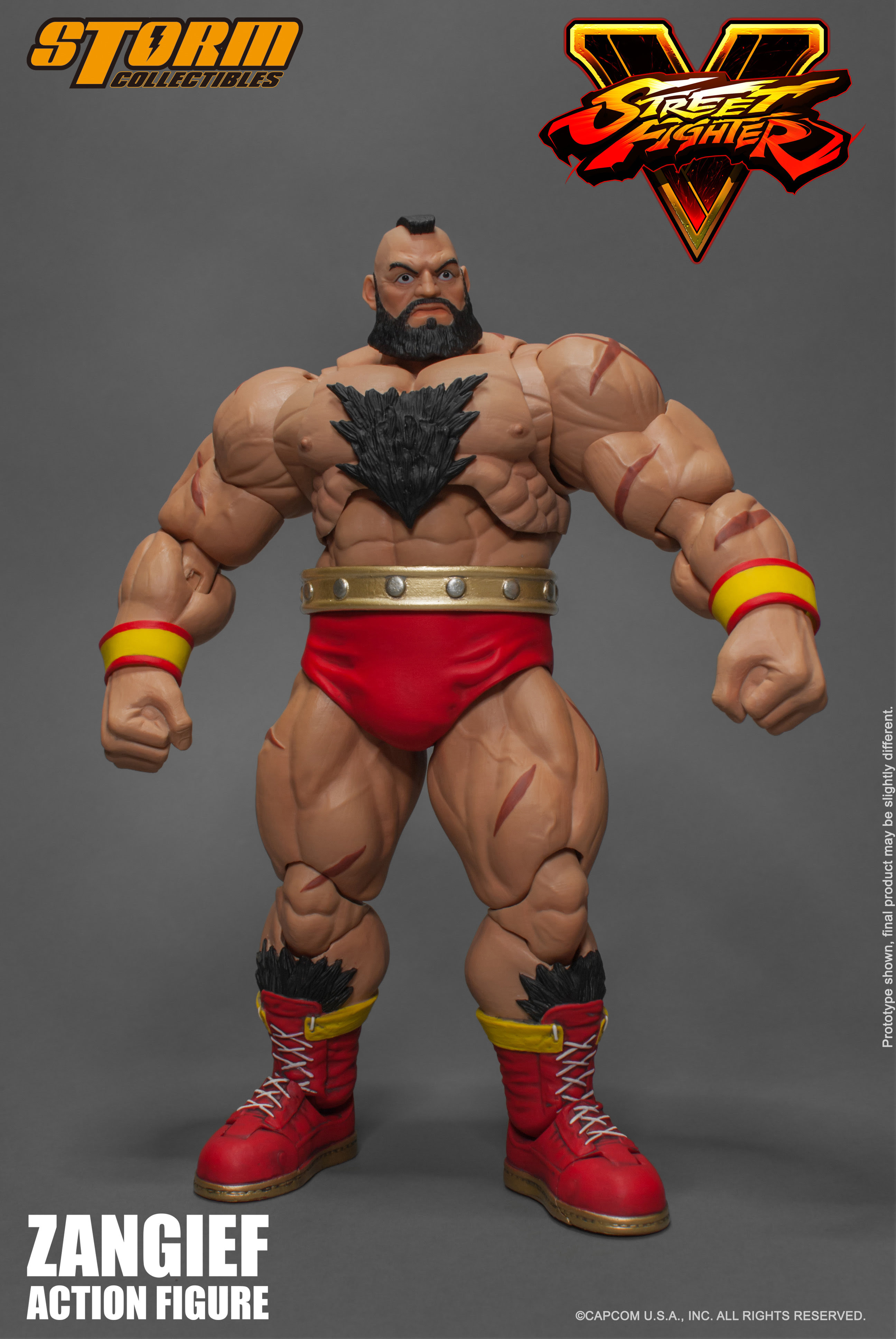 Street Fighter V - Zangief 1:12 Action Figure