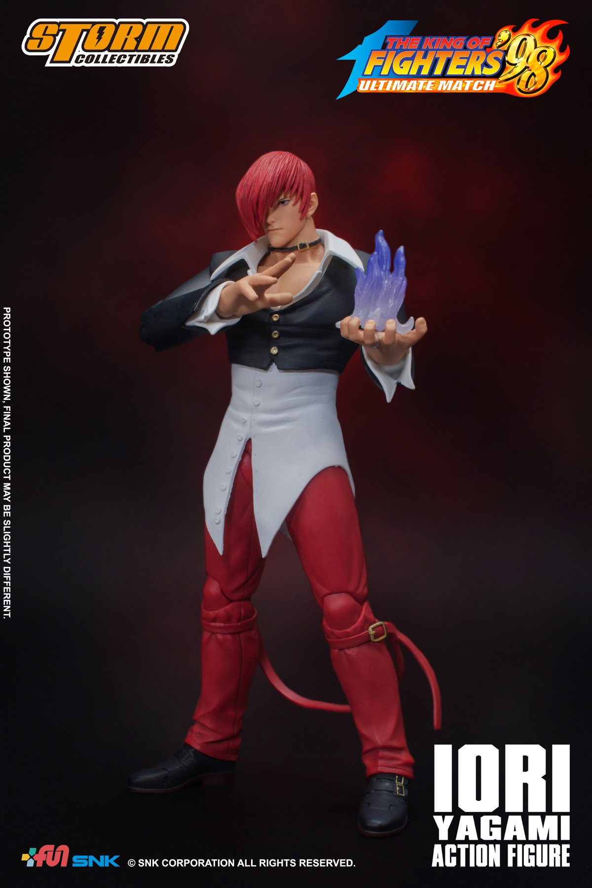 [Pre-Order] King of Fighters' 98 - Iori Yagami 1/12 Action Figure