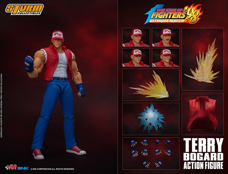 King of Fighters' 98 - Terry Bogard 1/12 Action Figure