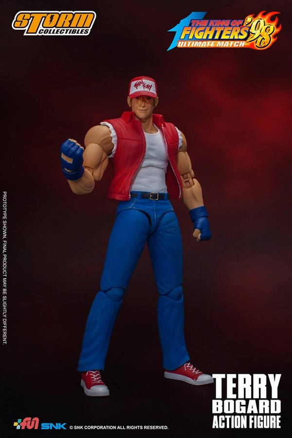 [Pre-Order] King of Fighters' 98 - Terry Bogard 1/12 Action Figure