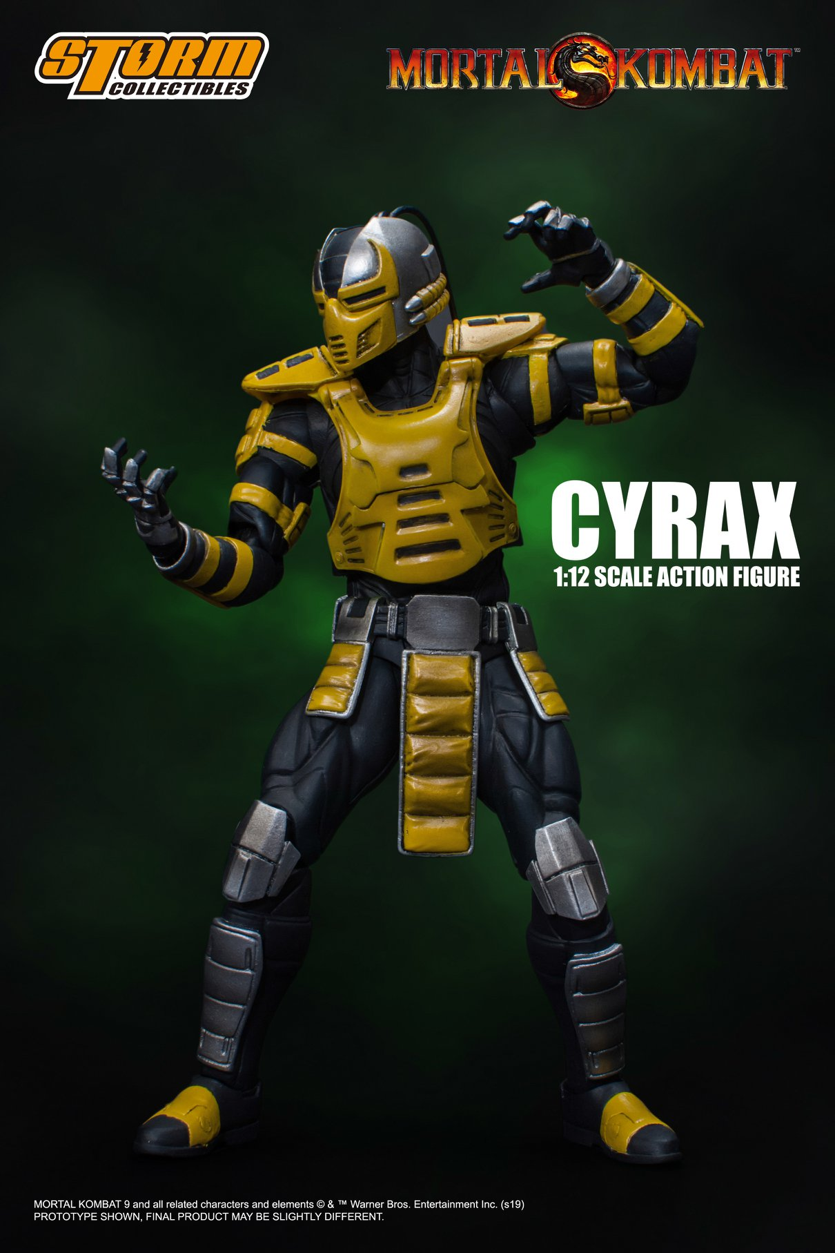 Mortal Kombat - Cyrax 1:12 Action Figure