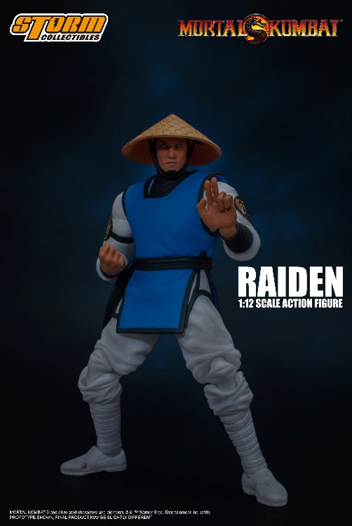 [Pre-Order] Mortal Kombat - Raiden 1:12 Action Figure