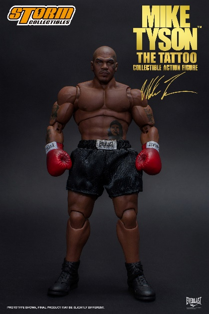[Pre-Order] Mike Tyson The Tattoo 1:12 Action Figure