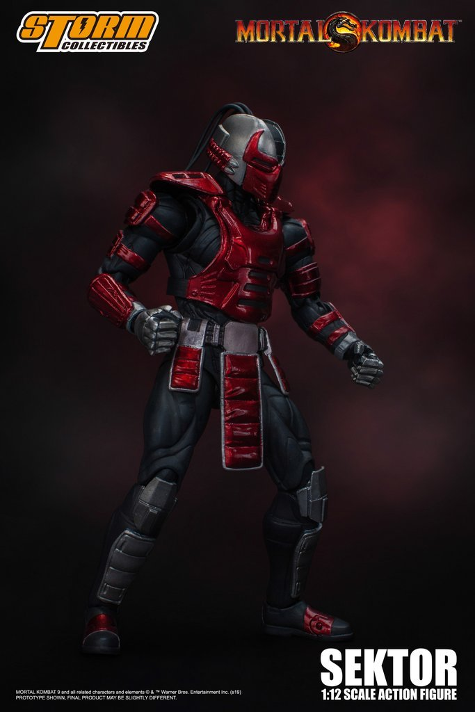 Mortal Kombat - Sektor 1:12 Action Figure