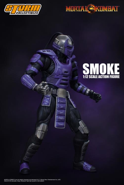 Mortal Kombat - Smoke 1:12 Action Figure NYCC Exclusive