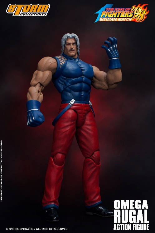 King of Fighters' 98 - Omega Rugal 1/12 Action Figure
