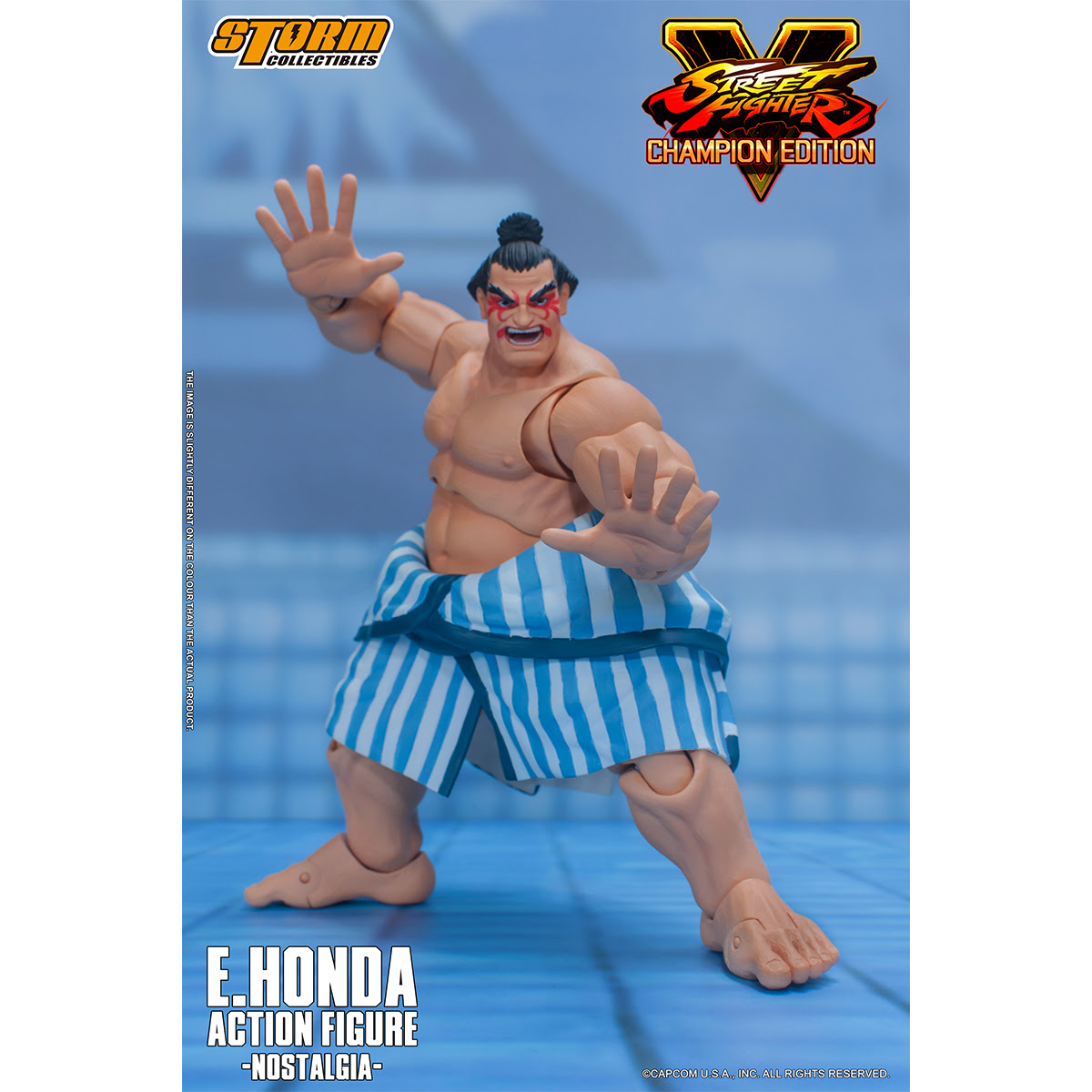[Pre-Order] Street Fighter V - Edmond Honda 1:12 Action Figure