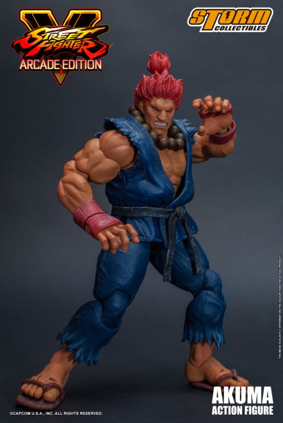 Street Fighter V - Akuma (Nostalgia Costume) 1:12 Action Figure