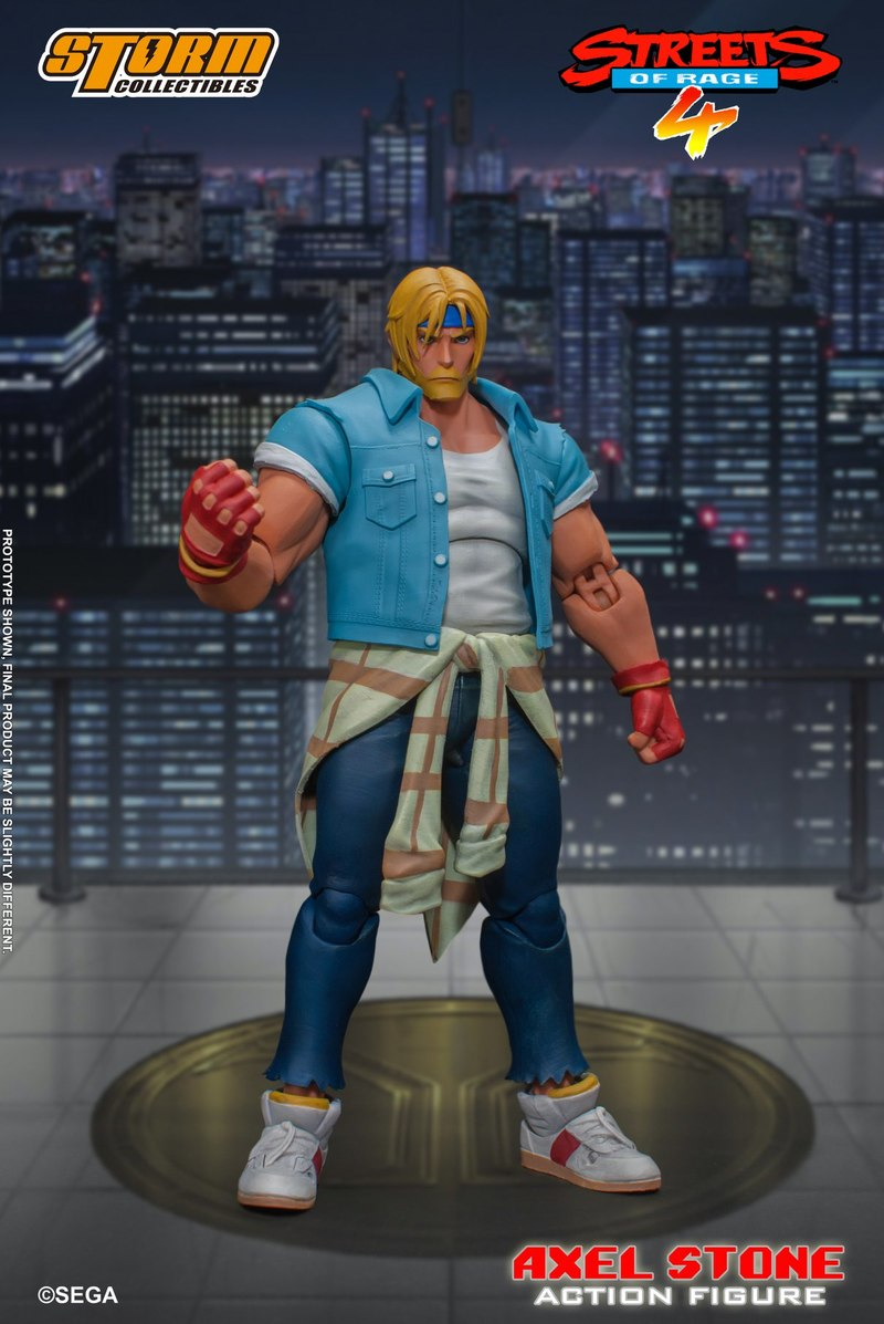[Pre-Order] Streets of Rage 4 - Axel Stone 1/12 Action Figure