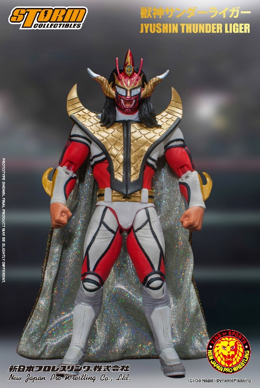 [Pre-Order] New Japan Pro-Wrestling - Jyushin Thunder Liger 1/12 Action Figure - Click Image to Close