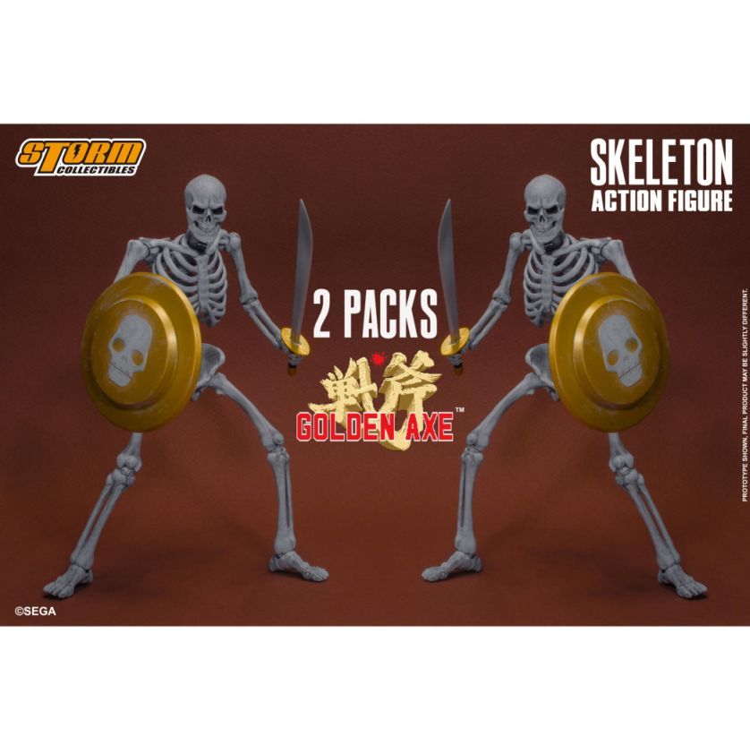 Golden Axe - Skeleton Soldier 2 Pack 1/12 Action Figure