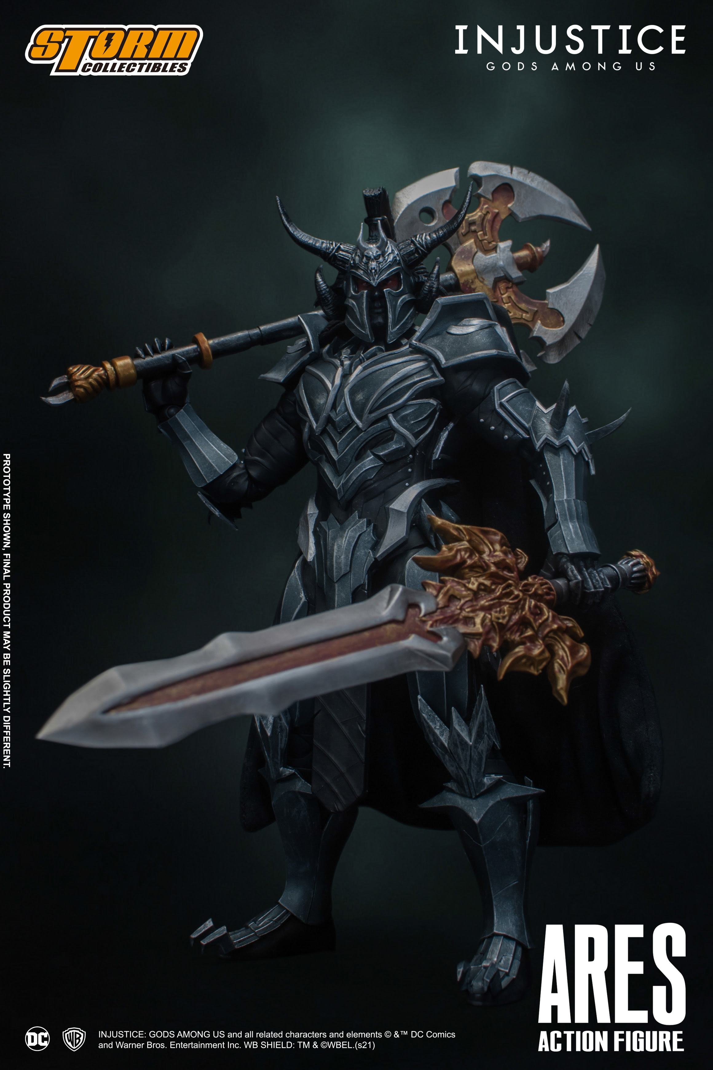[Pre-Order] Injustice: Gods Among Us - Ares 1/12 Action Figure