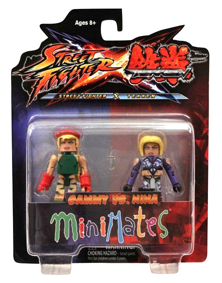 Minimates Tekken VS Street Fighter Series 1 - Cammy vs. Nina
