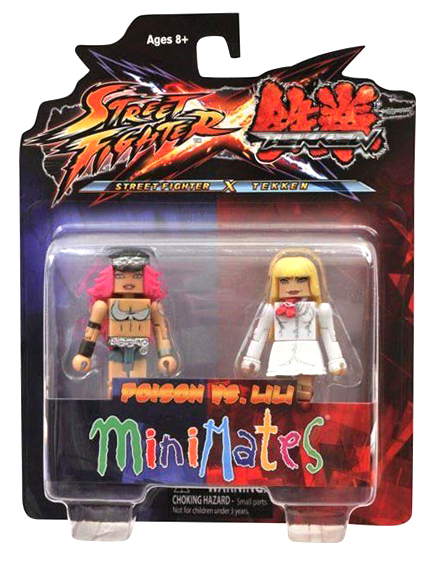 Minimates Tekken VS Street Fighter Series 1 - Poison vs. Lili