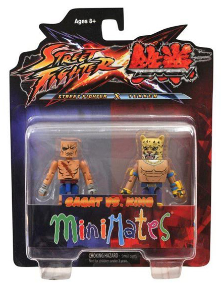 Minimates Tekken VS Street Fighter Series 1 - Sagat vs. King