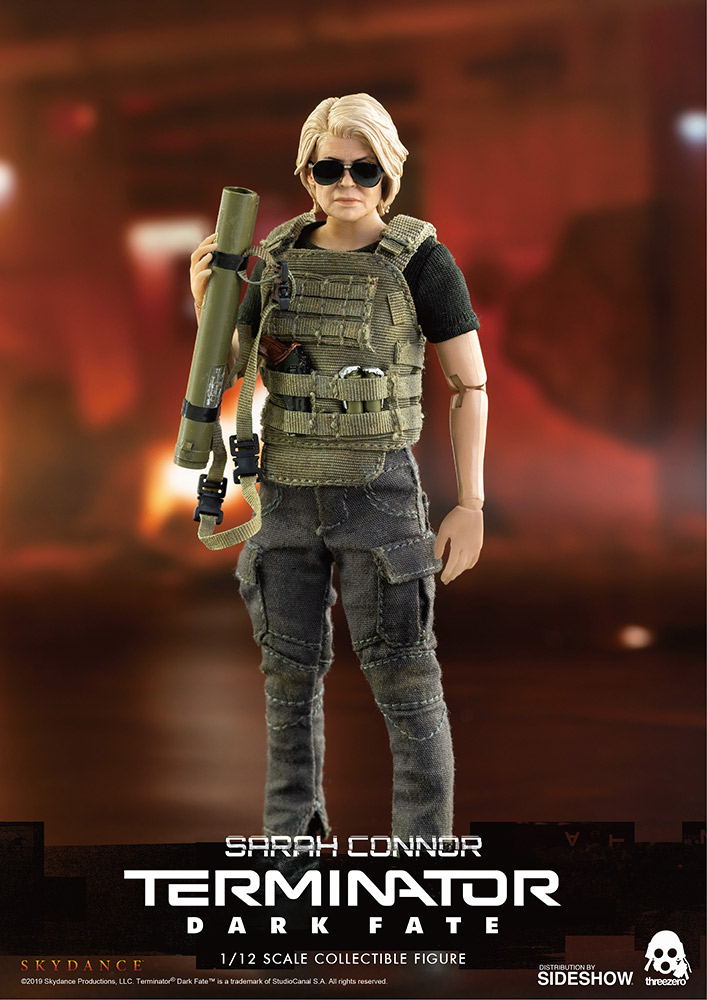 [Pre-Order] Terminator: Dark Fate - Sarah Connor 1/12 Collectible Figure