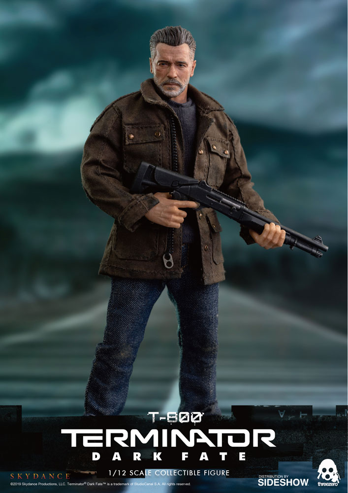 [Pre-Order] Terminator: Dark Fate - T-800 1/12 Collectible Figure