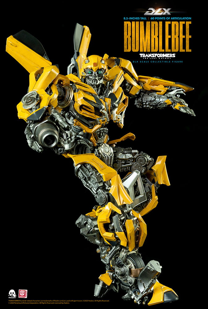 [Pre-Order] Hasbro x ThreeZero Transformers:The Last Knight Bumblebee Deluxe Scale Collectible Series - Click Image to Close