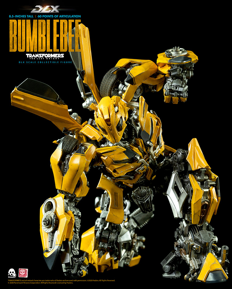 [Pre-Order] Hasbro x ThreeZero Transformers:The Last Knight Bumblebee Deluxe Scale Collectible Series