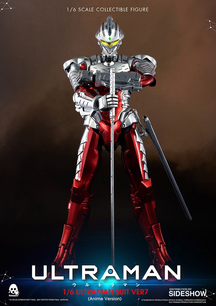 [Pre-Order] Ultraman Suit Ver7 1/6 Scale Figure Anime Edition