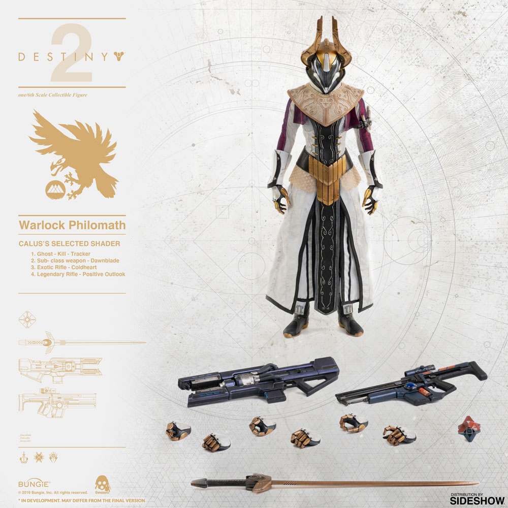 [Pre-Order] Destiny - Warlock Philomath (Calus's Selected Shader) 1/6 Scale Figure