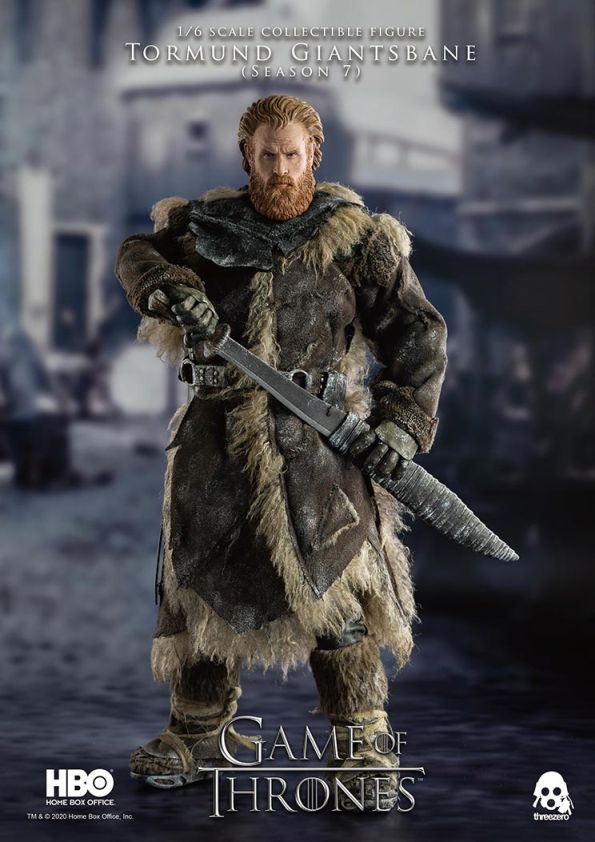[Pre-Order] Game of Thrones - Tormund Giantsbane 1/6 Scale Figure