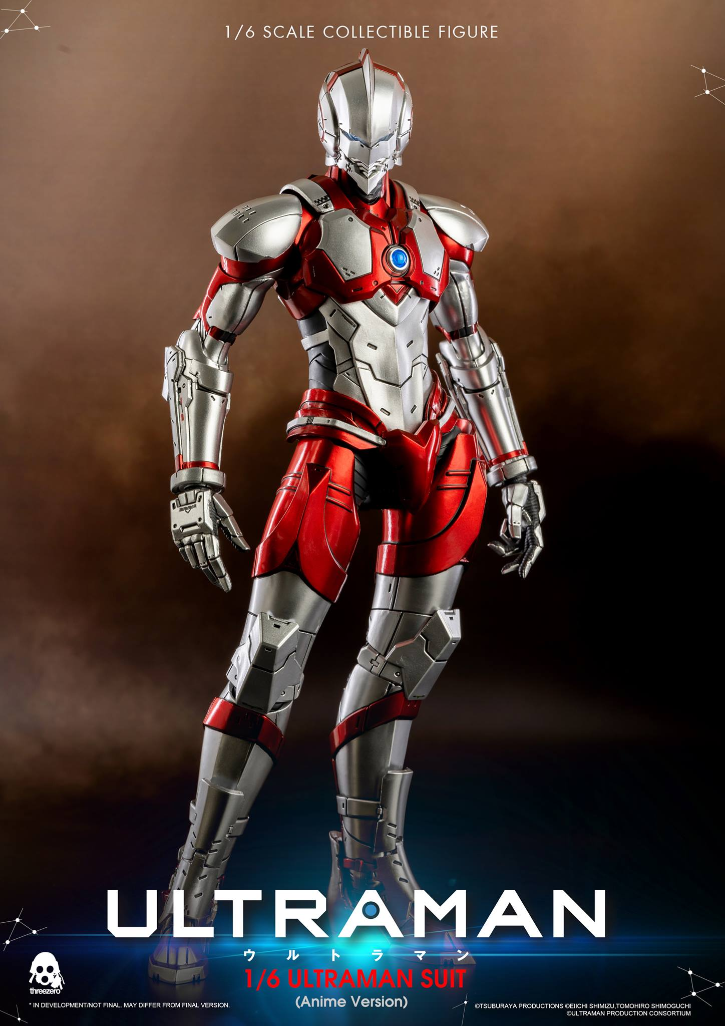 [Pre-Order] Ultraman 1/6 Scale Figure Anime Edition