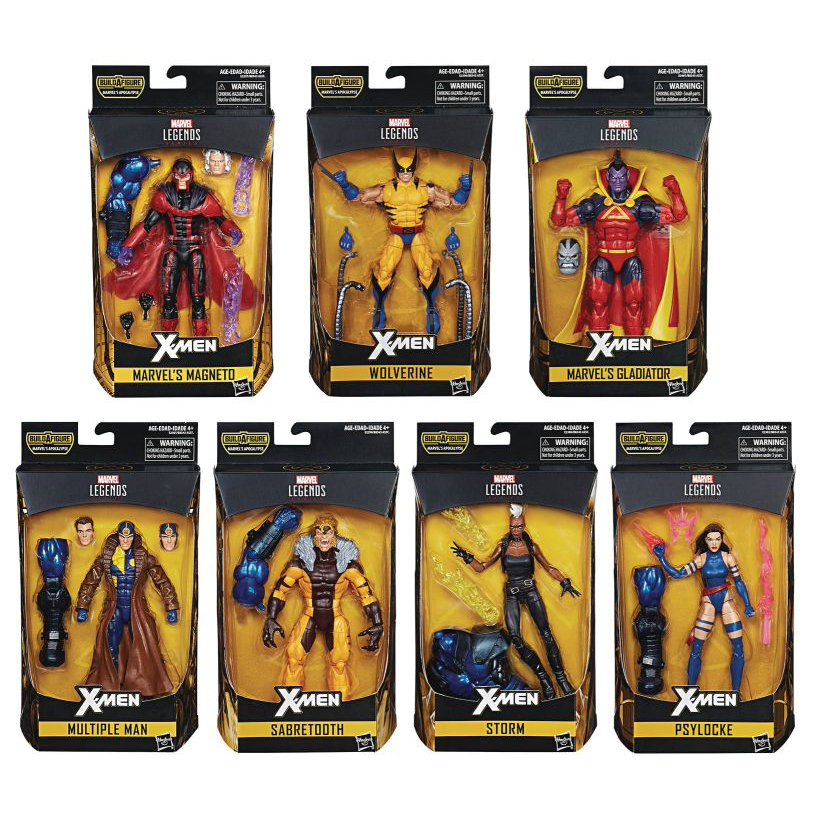 "Marvel Legends 6"" X-Men Wave 3 Set of 7 - Click Image to Close"