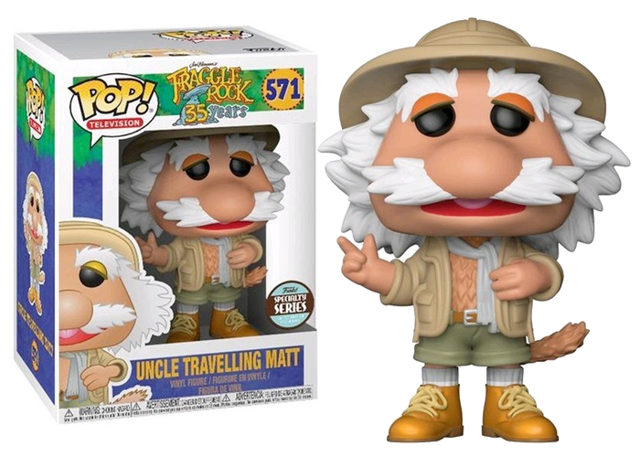 POP! Specialty Series: Fraggle Rock - Uncle Travelling Matt