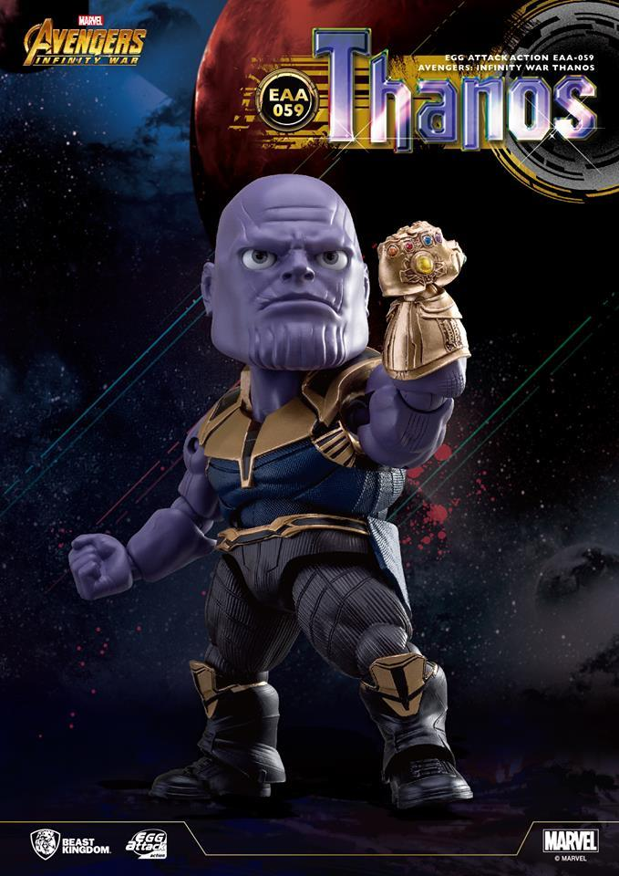 Egg Attack Action : Avengers Infinity War - Thanos *Clearance