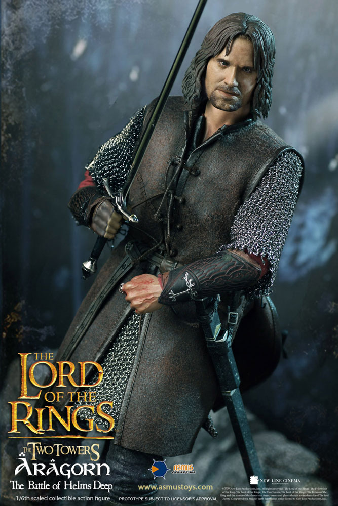 Lord of the Ring - Aragorn at Helm's Deep 1/6 Scale Figure