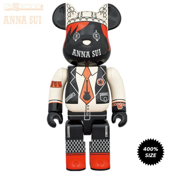 [Pre-Order] Bearbrick 400% Anna Sui Red and Beige