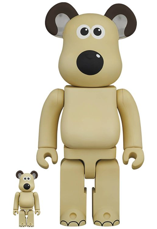 [Pre-Order] Bearbrick 400% + 100% Wallace and Gromit