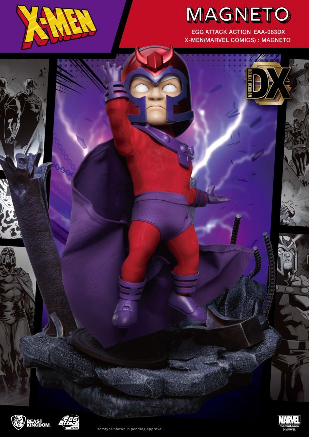 Egg Attack Action : X-Men - Magneto Deluxe Ver.