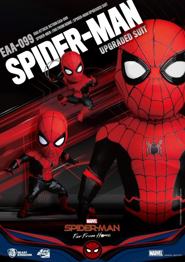 Egg Attack Action : Spider-Man Far From Home - Spider-Man Upgraded
