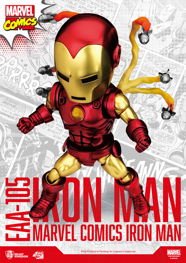 [Pre-Order] Egg Attack Action : Iron Man Classic Version
