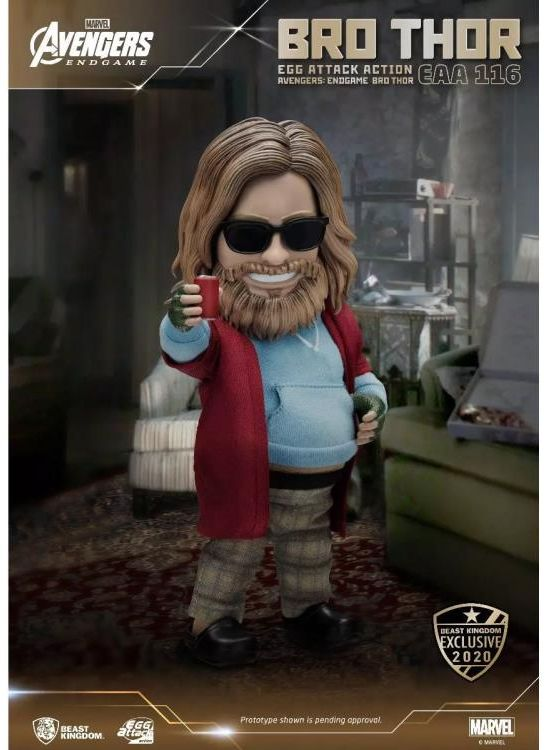 Egg Attack Action : Avengers Endgame - Bro Thor SDCC 2020 Exclusive