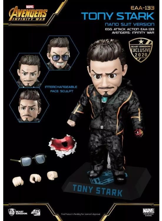 Egg Attack Action : Avengers Endgame - Tony Stark SDCC 2020 Exclusive