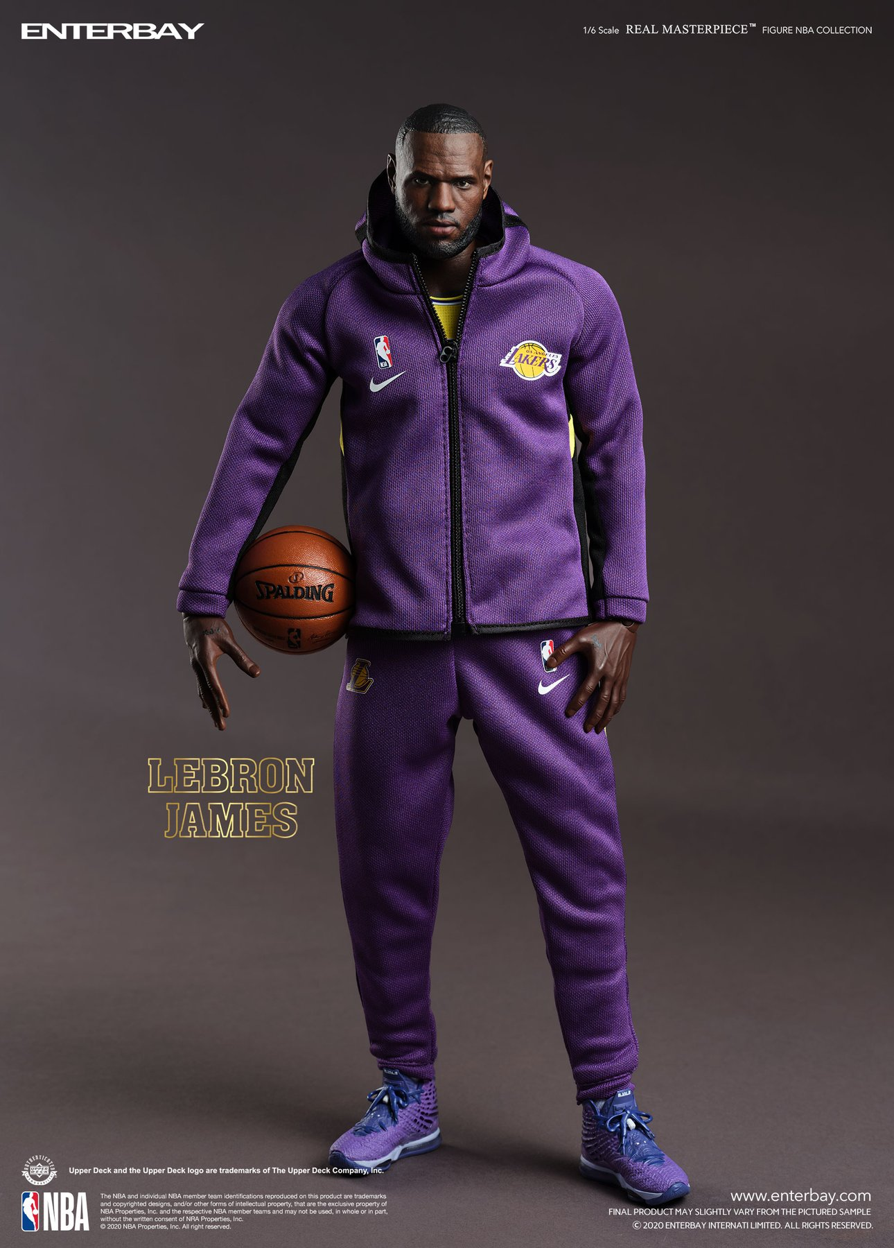 [Pre-Order] NBA - LeBron James Real Masterpiece - Click Image to Close