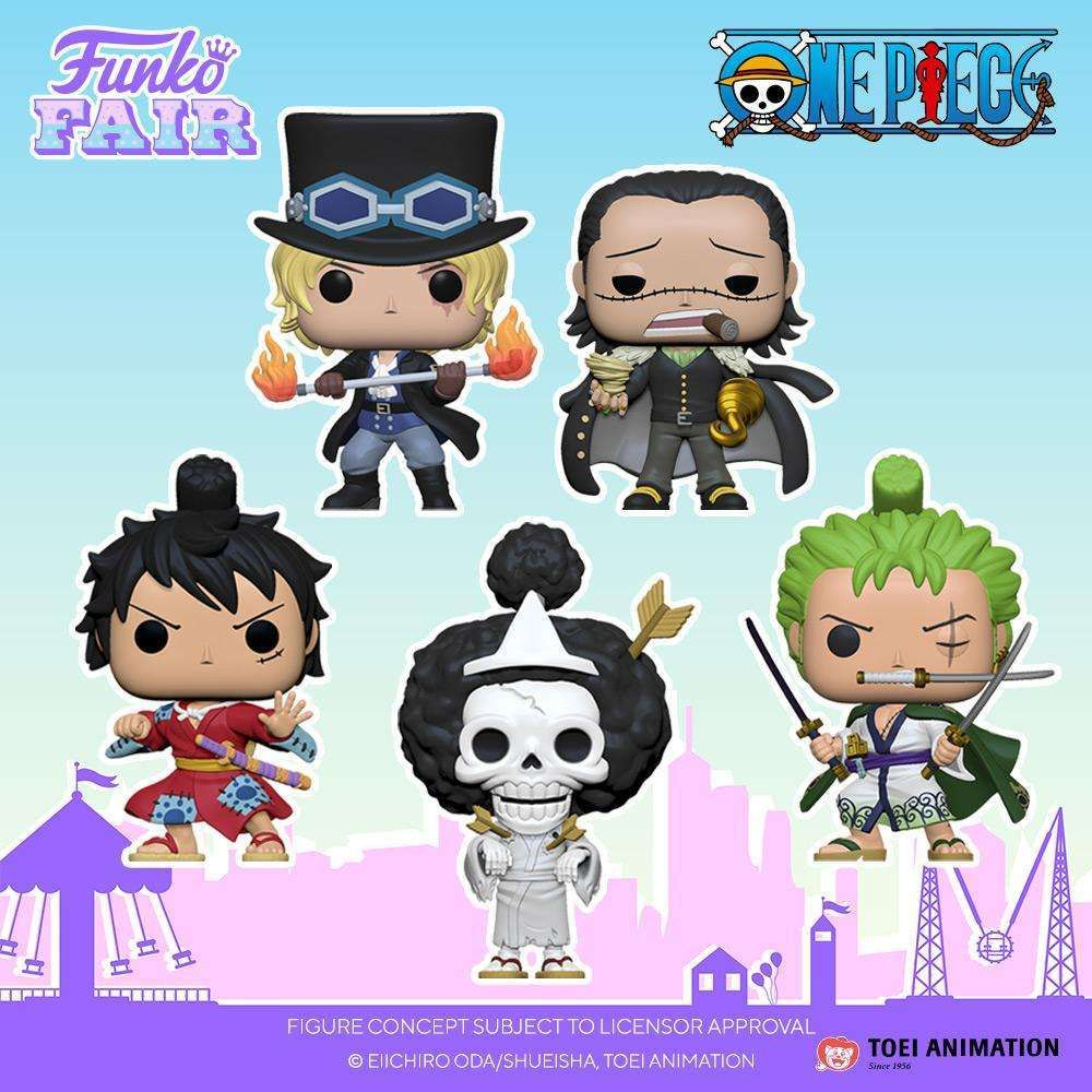 [Pre-Order] POP! Animation: One Piece (Set of 5)