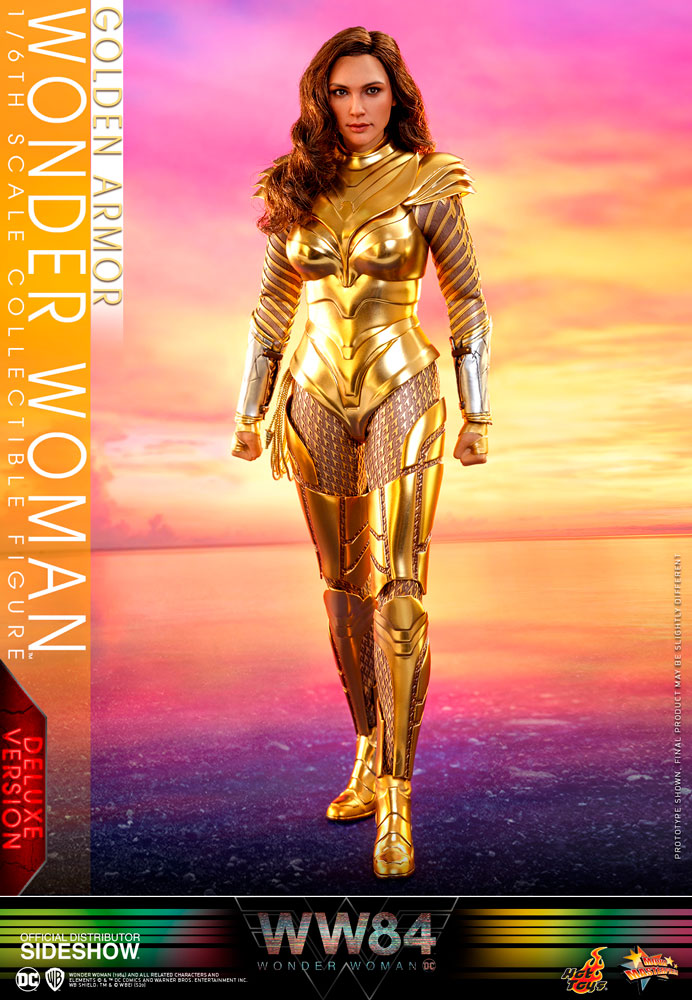 [Pre-Order] Wonder Woman 1984 - Golden Armor Wonder Woman Deluxe Ver. Movie Masterpiece