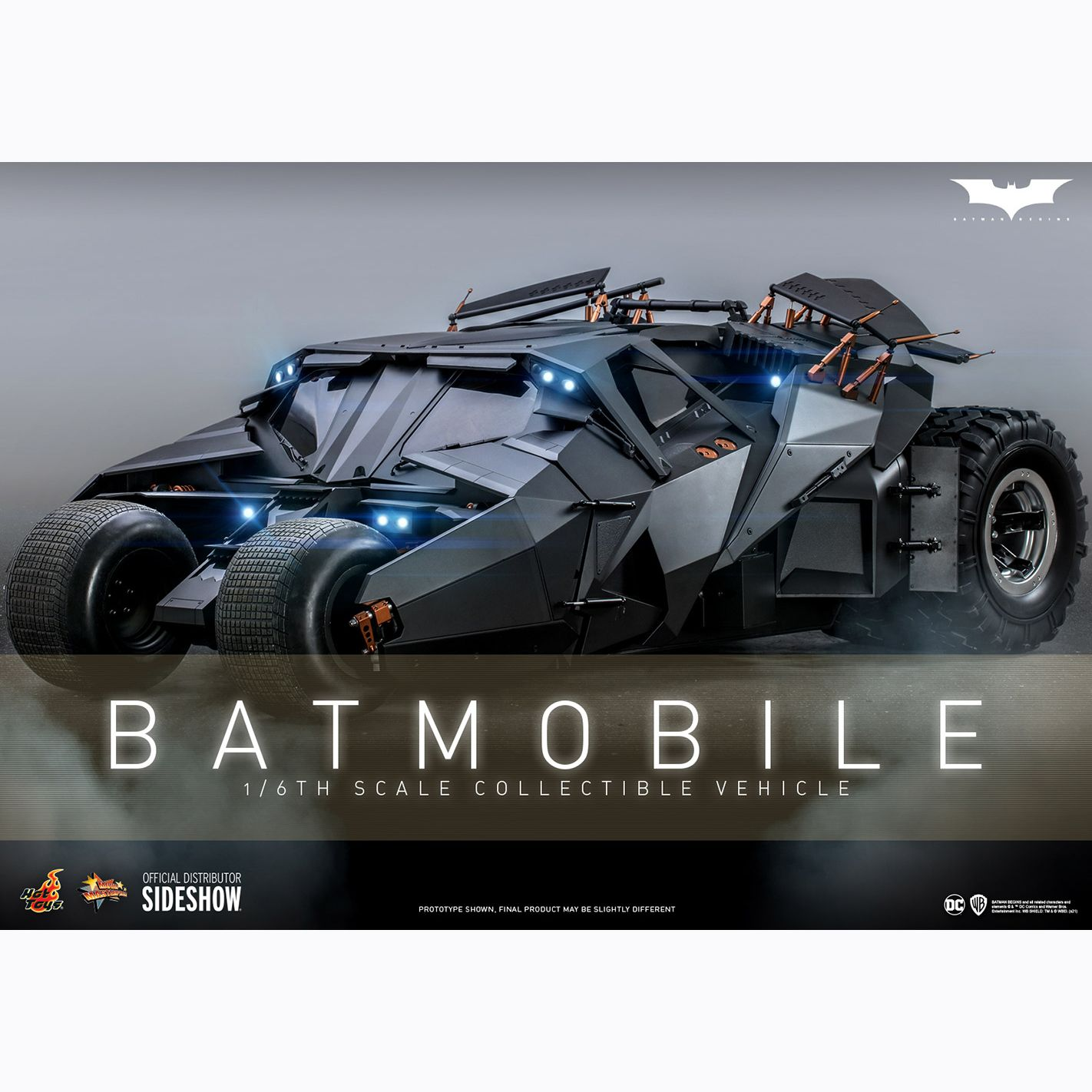 [Pre-Order] Batman Begins - Batmobile 1/6 Scale Figure Accessory