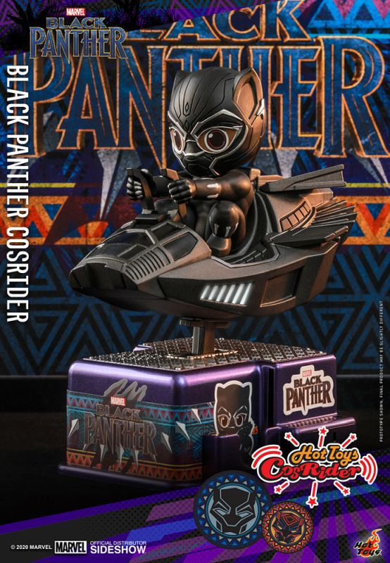 [Pre-Order] CosRider - Black Panther Collectible Figure