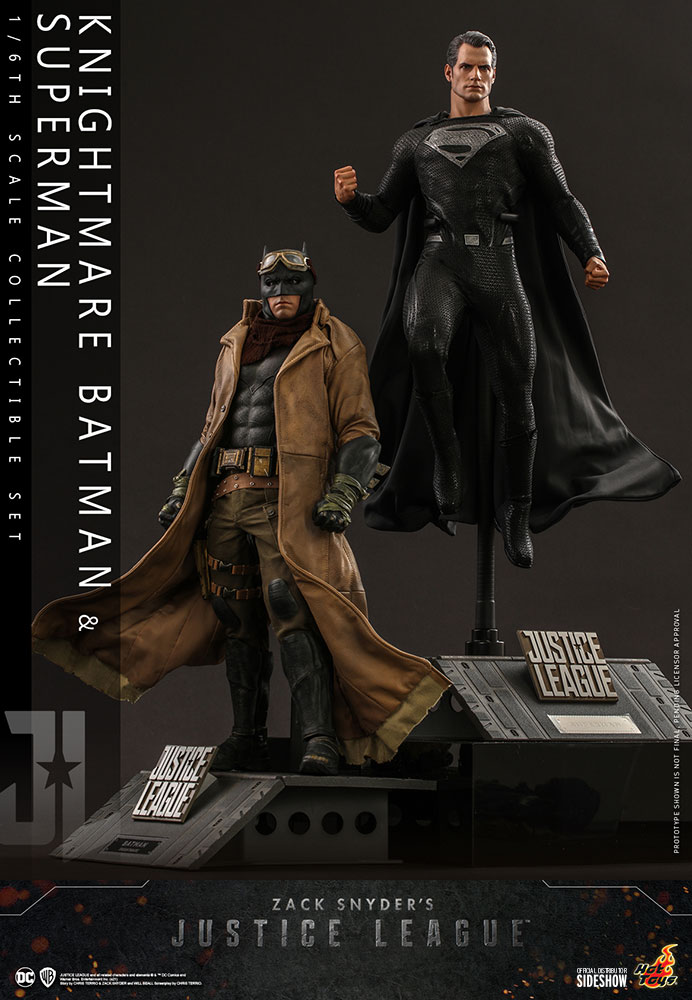 [Pre-Order] Justice League - Knightmare Batman and Superman Movie Masterpiece Set